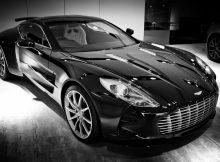 Black-and-White-Aston-Martin-One-77