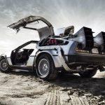 The legendary DeLorean DMC-12