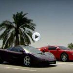 Bugatti Veyron vs McLaren F1 – One Mile Drag Race Between Two Titans