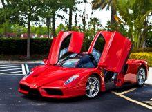 Ferrari Enzo With Open Doors