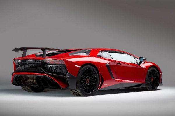 Lamborghini Aventador Superveloce LP750-4