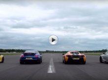 Porsche 911 Turbo S vs McLaren 570S Cover