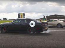 Porsche 911 vs Nissan GT-R vs Dodge Hellcat Cover