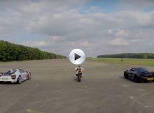 Porsche 918 Spyder vs McLaren P1 vs Ducati 1199 Superleggera Cover