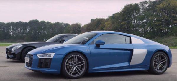 Audi R8 V10 vs Mercedes-AMG GT S