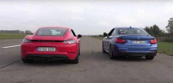 Porsche 718 Cayman vs BMW M240i