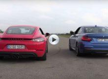 Porsche 718 Cayman vs BMW M240i Cover