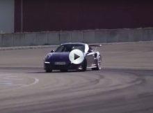 Porsche 911 GT3 RS Drifting