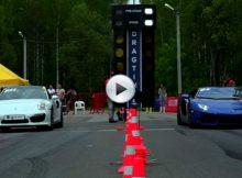 Porsche 911 Turbo vs Lamborghini Aventador Cover