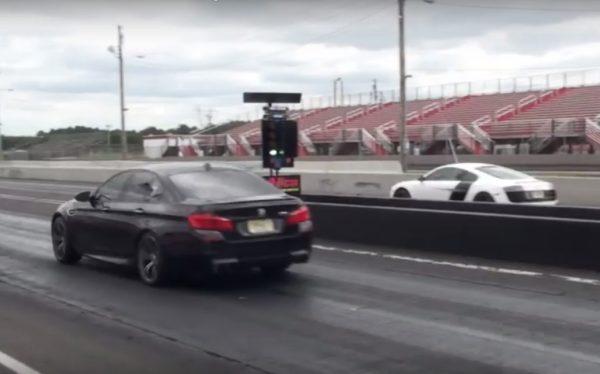 Audi R8 V10 vs BMW M5