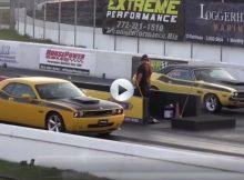 Challenger SRT8 vs 1970 Challenger