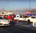 Porsche vs Hellcat