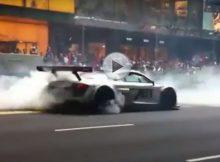 Audi R8 Burnout Cover