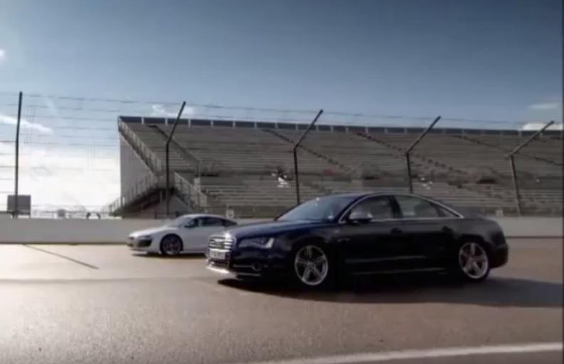Audi S Vs Audi R Quarter Mile Drag Race - Audi r8 quarter mile