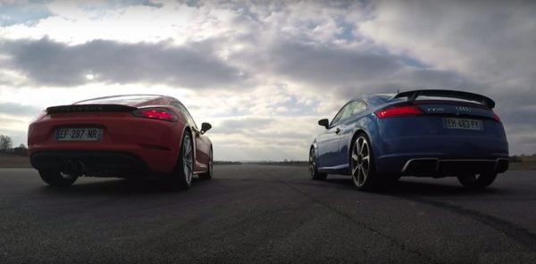 Audi TT RS vs Porsche 718