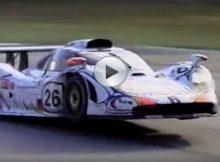 Flying Porsche Cover