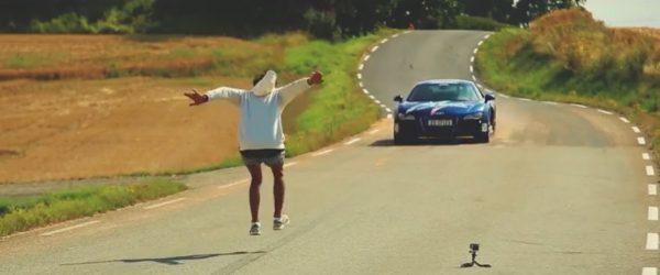 Jump Over Audi R8