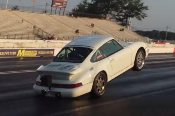 Porsche 964 Turbo Wheelstand