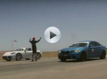 Porsche Boxster 718 S vs BMW M2