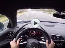 Audi R8 V10 207 mph Cover