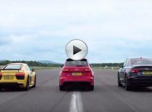 Audi R8 V10 Plus vs Audi Rs6 vs Audi S8 Cover