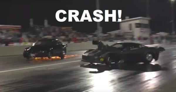 Corvette vs Turbo Mustang