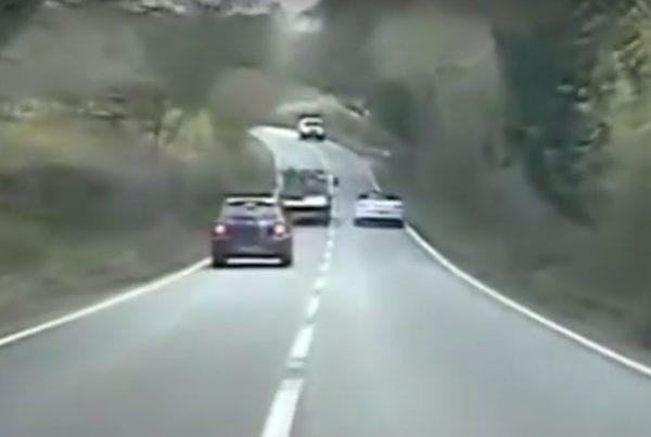 Stolen Porsche Police Chase