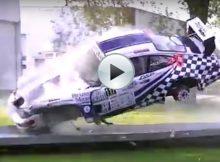 Unbelievable Porsche Crash