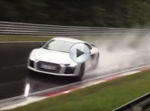 Audi R8 Sliding