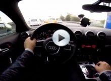 Crazy Audi Driver Cover