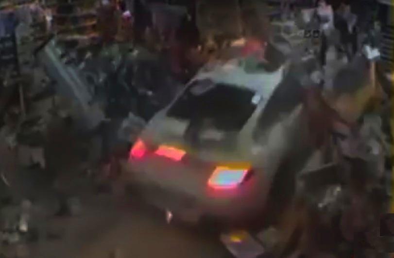 Porsche Girl Car Crash