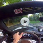 Amazing Acceleration of Porsche Carrera S Cabriolet – POV Video
