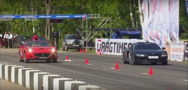 Audi R8 V10 vs Ferrari California