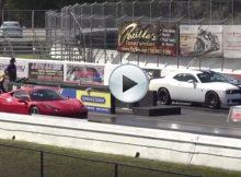 Dodge Challenger Hellcat vs Ferrari 458 Italia Cover