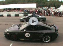 Porsche 911 vs Lamborghini Murcielago Cover