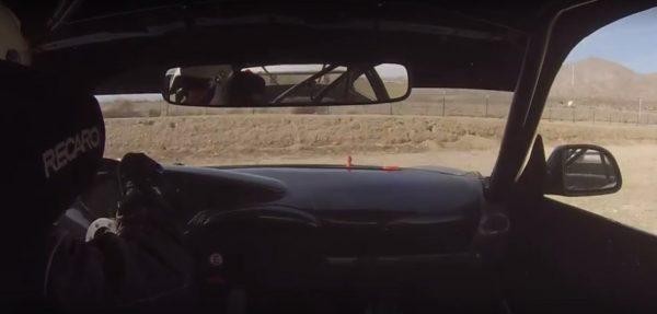 Porsche 996 Crash