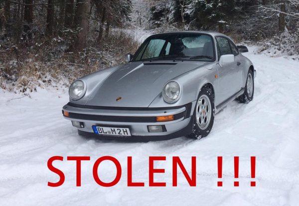 Stolen 1985 Porsche Carrera