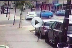 Porsche Panamera Crash