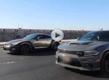 Nissan GTR vs HELLCAT